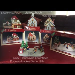 Lemax Dickensvale Village collection